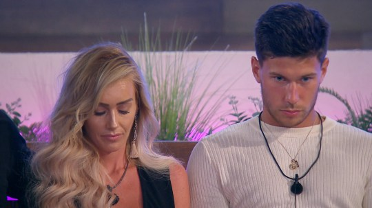From ITV Studios Love Island: SR4: Ep36 on ITV2 Pictured: Laura and Jack at the dumping. This photograph is (C) ITV Plc and can only be reproduced for editorial purposes directly in connection with the programme or event mentioned above, or ITV plc. Once made available by ITV plc Picture Desk, this photograph can be reproduced once only up until the transmission [TX] date and no reproduction fee will be charged. Any subsequent usage may incur a fee. This photograph must not be manipulated [excluding basic cropping] in a manner which alters the visual appearance of the person photographed deemed detrimental or inappropriate by ITV plc Picture Desk. This photograph must not be syndicated to any other company, publication or website, or permanently archived, without the express written permission of ITV Plc Picture Desk. Full Terms and conditions are available on the website www.itvpictures.co.uk For further information please contact: james.hilder@itv.com / 0207 157 3052