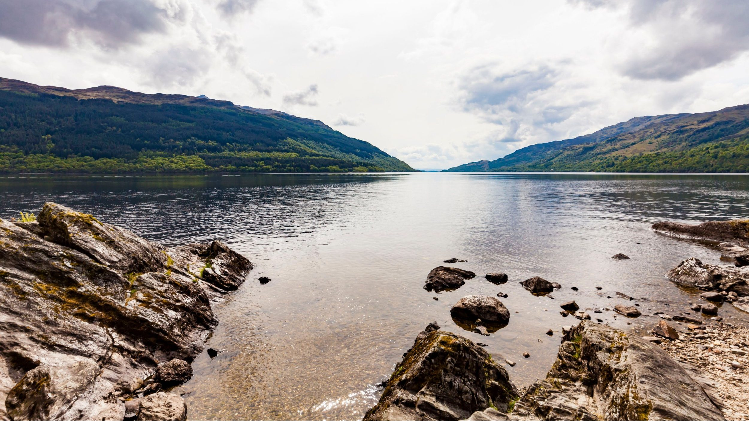 Mandatory Credit: Photo by REX/Shutterstock (9651045a) United Kingdom, Scotland, Luss, Loch Lomond and The Trossachs National Park, Loch Lomond VARIOUS