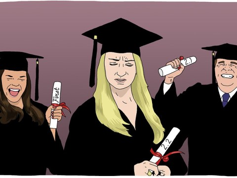 What happens when you get your first job after graduating and then the financial crisis hits?