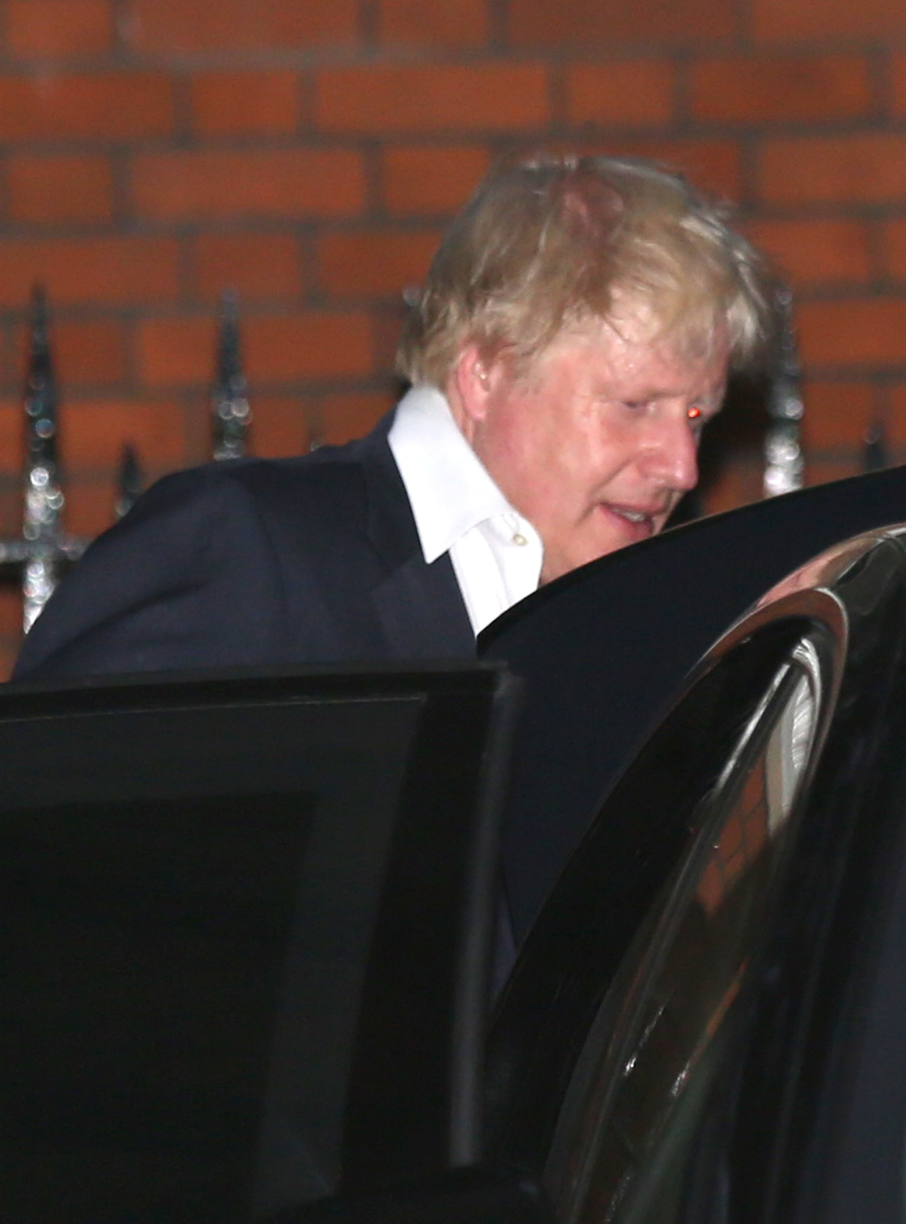 Boris Johnson leaves Carlton House Terrace in Westminster, London, after he resigned as Foreign Secretary. PRESS ASSOCIATION Photo. Picture date: Monday July 9, 2018. See PA story POLITICS Brexit. Photo credit should read: Isabel Infantes/PA Wire