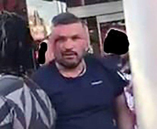 Man who jumped from top of bus in Clapham Junction following England win identified Picture: @MPSRTPC METROGRAB Via Twitter REF: https://twitter.com/MPSRTPC/status/1016977261365481472