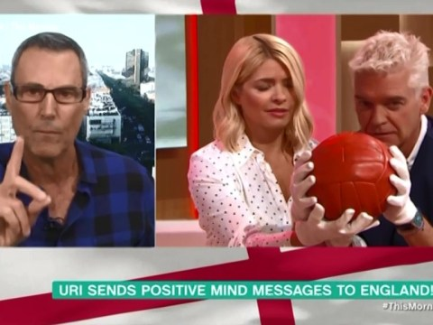 Uri Geller reveals how you can help England beat Croatia in World Cup with bizarre mantra