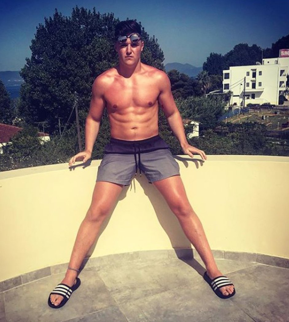 PICTURED HERE IS WILLIAM HUGHES IN CORFU JUST 6 DAYS AGO. A young British boxer was tragically found dead during a boys holiday to a Greek party island. William Hughes, 20, died on the island of Corfu earlier this week while celebrating the end of his first year at university. The promising fighter - a protegee of former World Champion Enzo Maccarinelli - was tipped to rise through the ranks of amateur boxing while also studying stocks and shares at Queen Mary University of London. ? WALES NEWS SERVICE