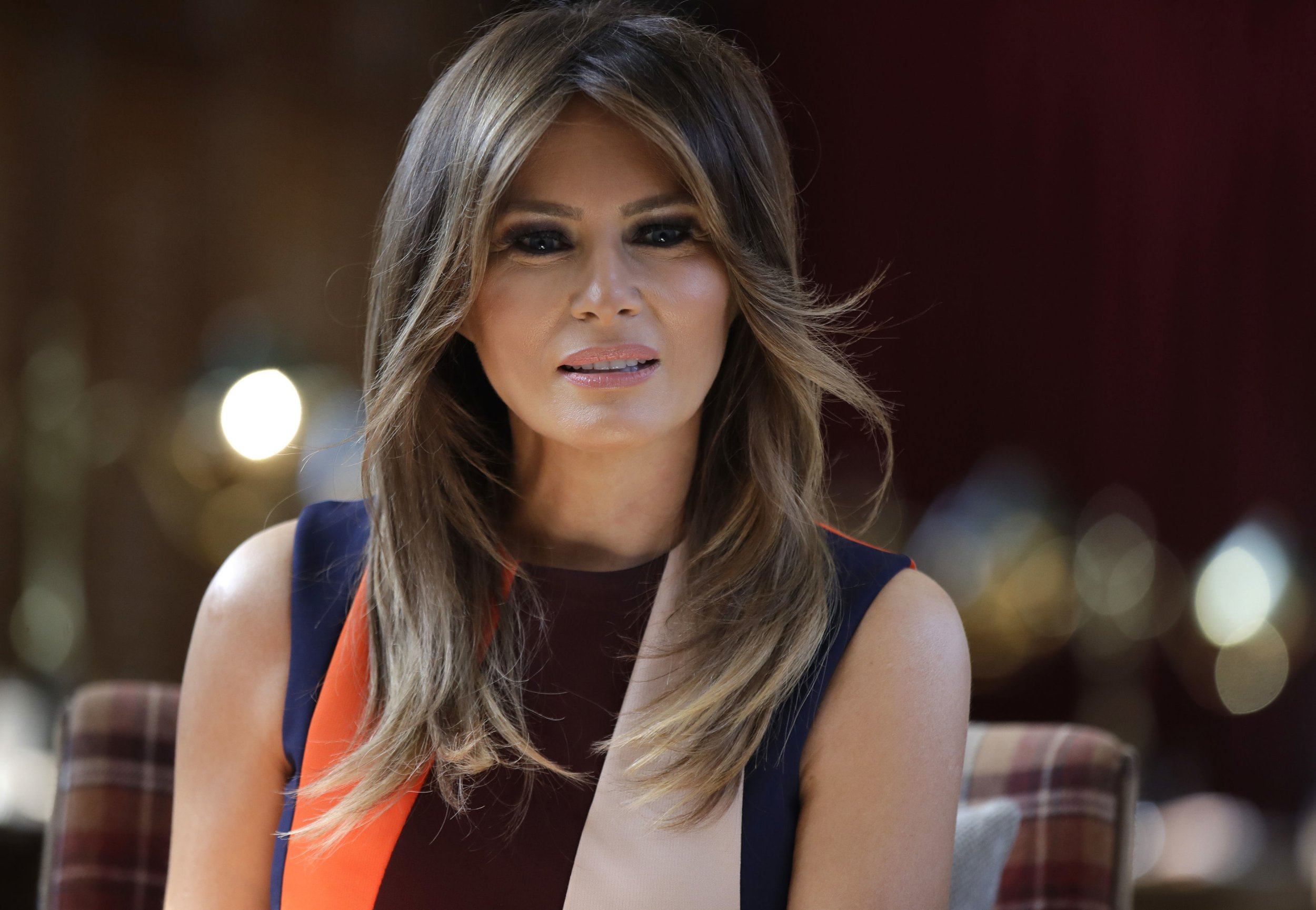 How old is Melania Trump, where is she from and how long has she been married to Donald?