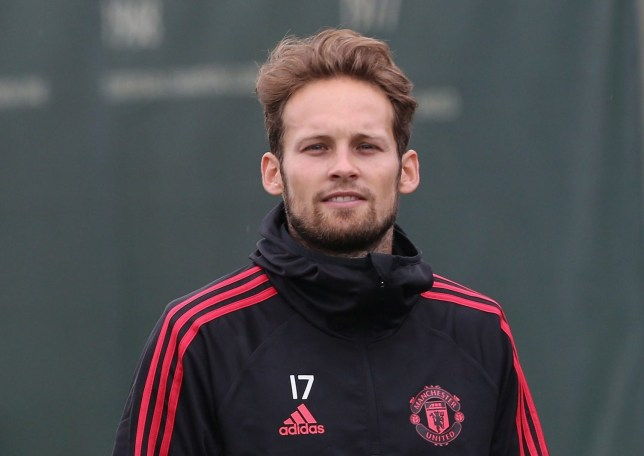 MANCHESTER, ENGLAND - JULY 13: (EXCLUSIVE COVERAGE) Daley Blind of Manchester United in action during a first team training session at Aon Training Complex on July 13, 2018 in Manchester, England. (Photo by Matthew Peters/Man Utd via Getty Images)