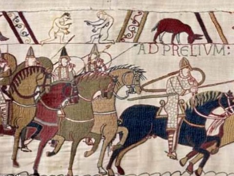 Academic counts 93 penises woven into history as part of the Bayeux Tapestry
