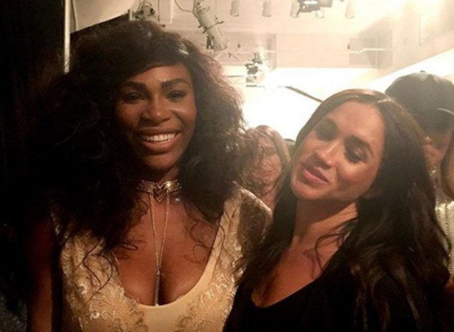 Picture: Metro Grab Serena Williams and Meghan Markles friendship