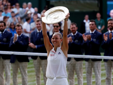Angelique Kerber denies Serena Williams history to win first Wimbledon title