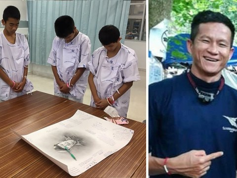 Thai cave boys mourn hero Navy SEAL who died trying to rescue them