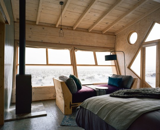 A shipwrecked lodge in a desert might be the perfect ...