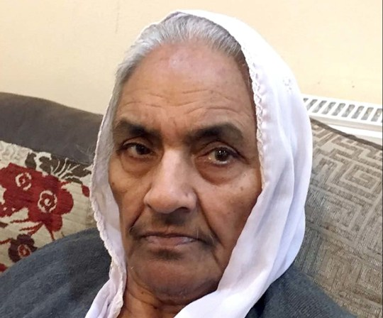 Undated handout photo issued by West Midlands Police of Riasat Bi as Madni Ahmed is to appear at Birmingham Magistrates' Court charged with the murder of the grandmother in her Birmingham home. PRESS ASSOCIATION Photo. Issue date: Tuesday July 17, 2018. Ahmed is accused of murdering 86-year-old Riasat Bi in her Aubrey Road property, in the Small Heath area of the city. See PA story POLICE Aubrey. Photo credit should read: West Midlands Police/PA Wire NOTE TO EDITORS: This handout photo may only be used in for editorial reporting purposes for the contemporaneous illustration of events, things or the people in the image or facts mentioned in the caption. Reuse of the picture may require further permission from the copyright holder.