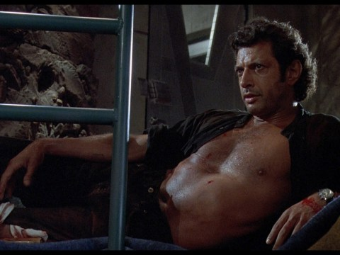 Jeff Goldblum was nearly written out of Jurassic Park by Steven Spielberg