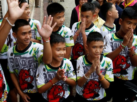 Thai boys stuck in cave gave the cutest answers during press conference