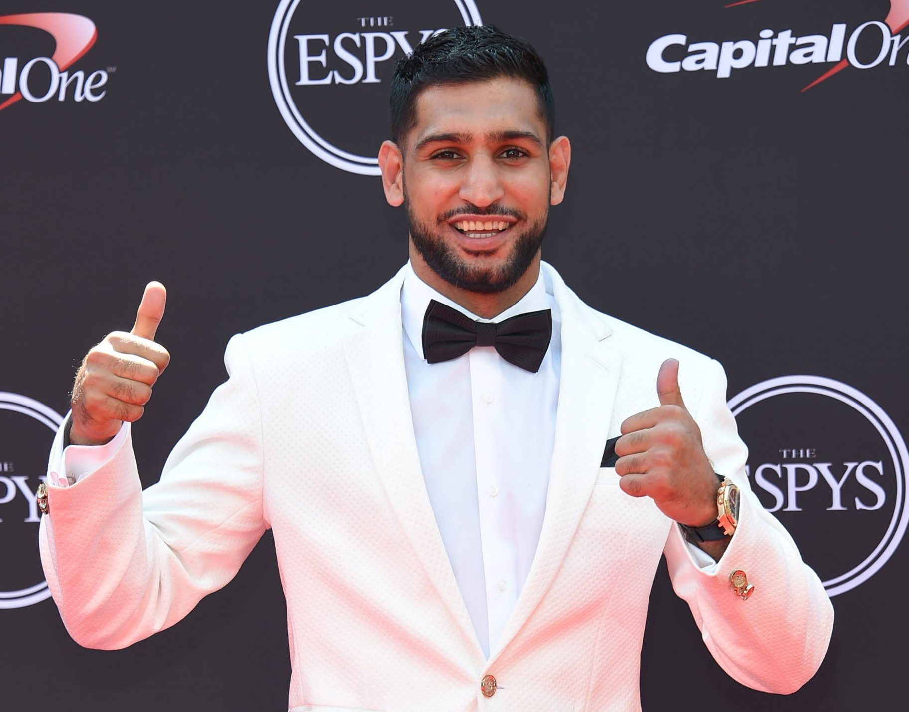 Amir Khan gives worst apology for calling Caitlyn Jenner Bruce – using wrong pronoun all the way through