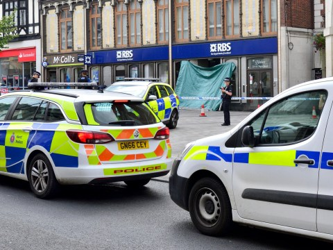 Homeless man found dead in doorway of branch of RBS