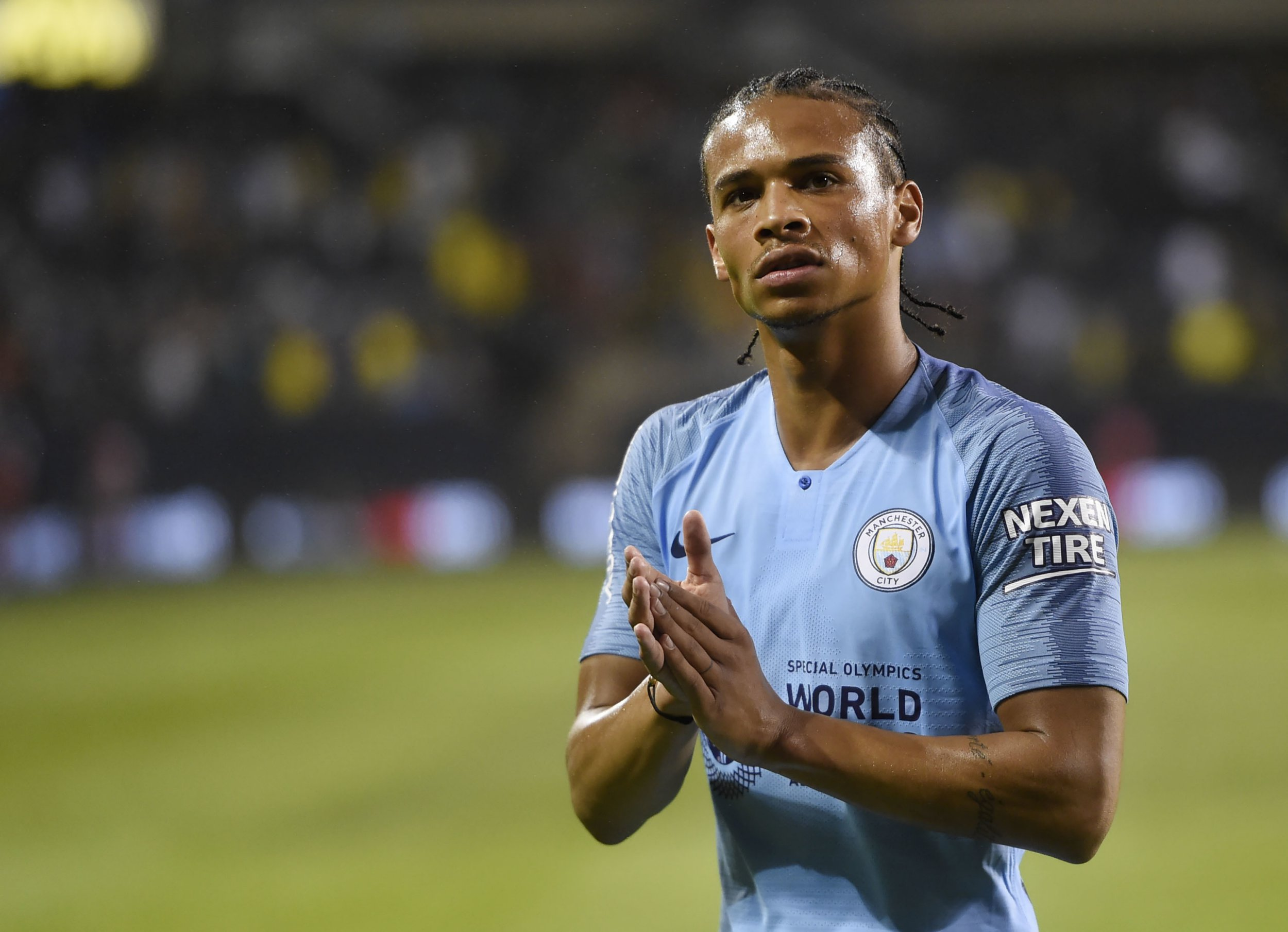 Leroy Sane believes Maurizio Sarri's Chelsea will be Manchester City's biggest threat