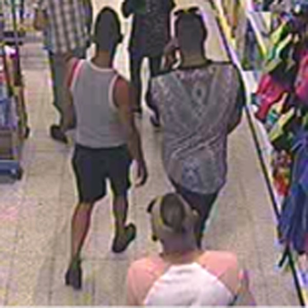 BEST QUALITY AVAILABLE Handout CCTV photo dated 21/07/2018 issued by West Mercia Police of three men, who police are looking for in connection to a suspect acid attack to a three-year-old boy in Home Bargains on Shrub Hill Retail Park, Tallow Hill, Worcester, yesterday afternoon (Saturday 21 July). PRESS ASSOCIATION Photo. Issue date: Sunday July 22, 2018. The boy was taken to hospital where he is being treated for serious burns while a 39-year-old man from Wolverhampton has been arrested on suspicion of conspiracy to commit grievous bodily harm and remains in police custody. See PA story POLICE Acid. Photo credit should read: West Mercia Police/PA Wire NOTE TO EDITORS: This handout photo may only be used in for editorial reporting purposes for the contemporaneous illustration of events, things or the people in the image or facts mentioned in the caption. Reuse of the picture may require further permission from the copyright holder.