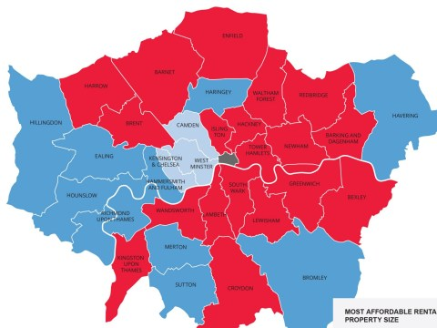 The cheapest places to rent in London