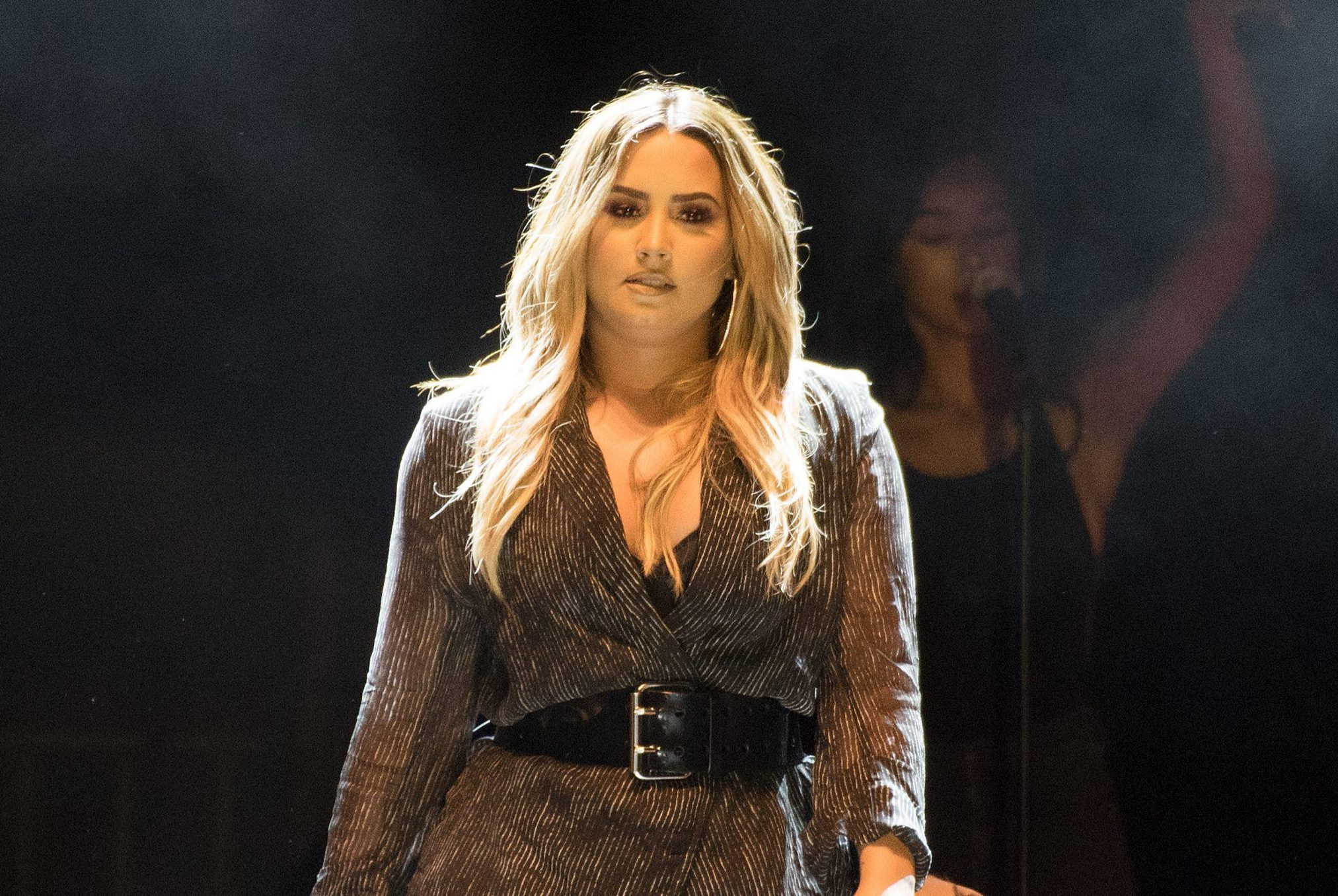 Demi Lovato 'to stay in rehab for months' as she 'focuses on herself' following overdose