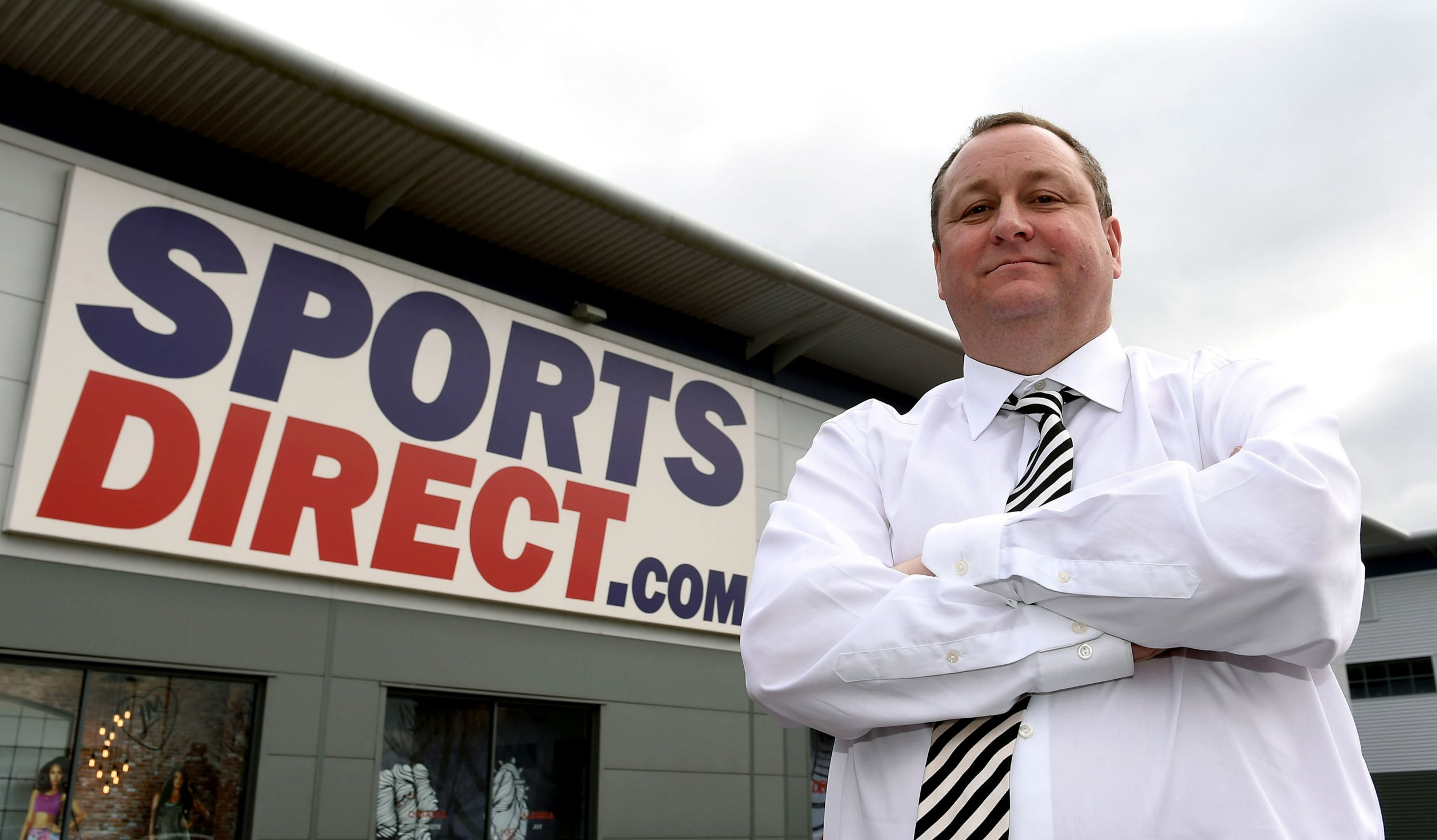 File photo dated 21/03/16 of Sports Direct founder Mike Ashley, as the company has lost its battle against former MP Iain Wright after parliamentary authorities refused to investigate claims that he helped wipe millions off the retailer's share price and triggered violent assaults on shop staff.