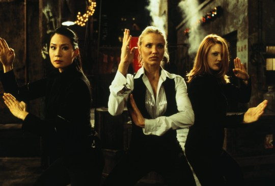 CHARLIE'S ANGELS (2000) - Three women, detectives with a mysterious boss, retrieve stolen voice-ID software, using martial arts, tech skills, and sex appeal.