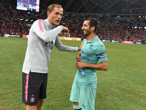 Arsenal mocked by PSG boss Thomas Tuchel after friendly defeat