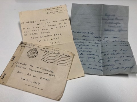 Charity shop discovers 70-year-old wartime love letters in donated curtains