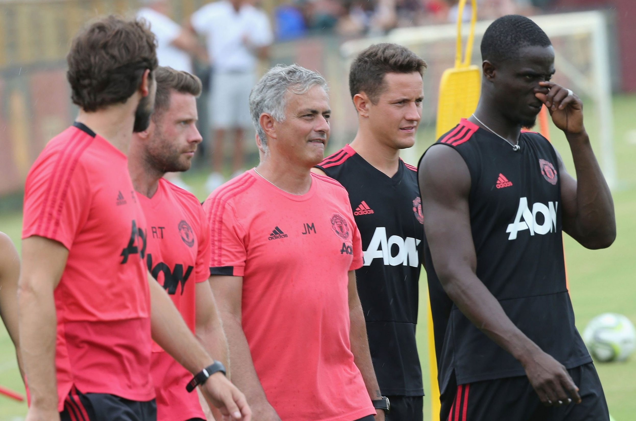 Ander Herrera, Eric Bailly and Chris Smalling miss training ahead of Manchester United's clash with Real Madrid