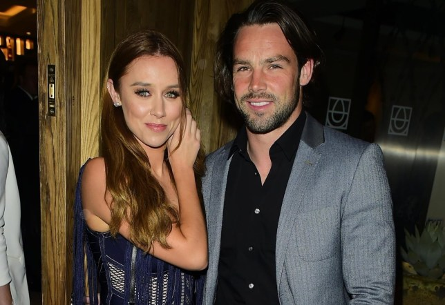 London, UNITED KINGDOM - Celebrities pictured arriving at the Cantina Laredo Launch party, London's first Tequila and Guacamole bar. Pictured: Una Healy and Ben Foden BACKGRID UK 11 OCTOBER 2017 BYLINE MUST READ: CaseyPap / BACKGRID UK: +44 208 344 2007 / uksales@backgrid.com USA: +1 310 798 9111 / usasales@backgrid.com *UK Clients - Pictures Containing Children Please Pixelate Face Prior To Publication*