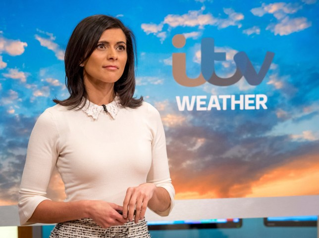 EDITORIAL USE ONLY. NO MERCHANDISING Mandatory Credit: Photo by Ken McKay/ITV/REX/Shutterstock (9541927z) Lucy Verasamy 'Good Morning Britain' TV show, London, UK - 05 Apr 2018