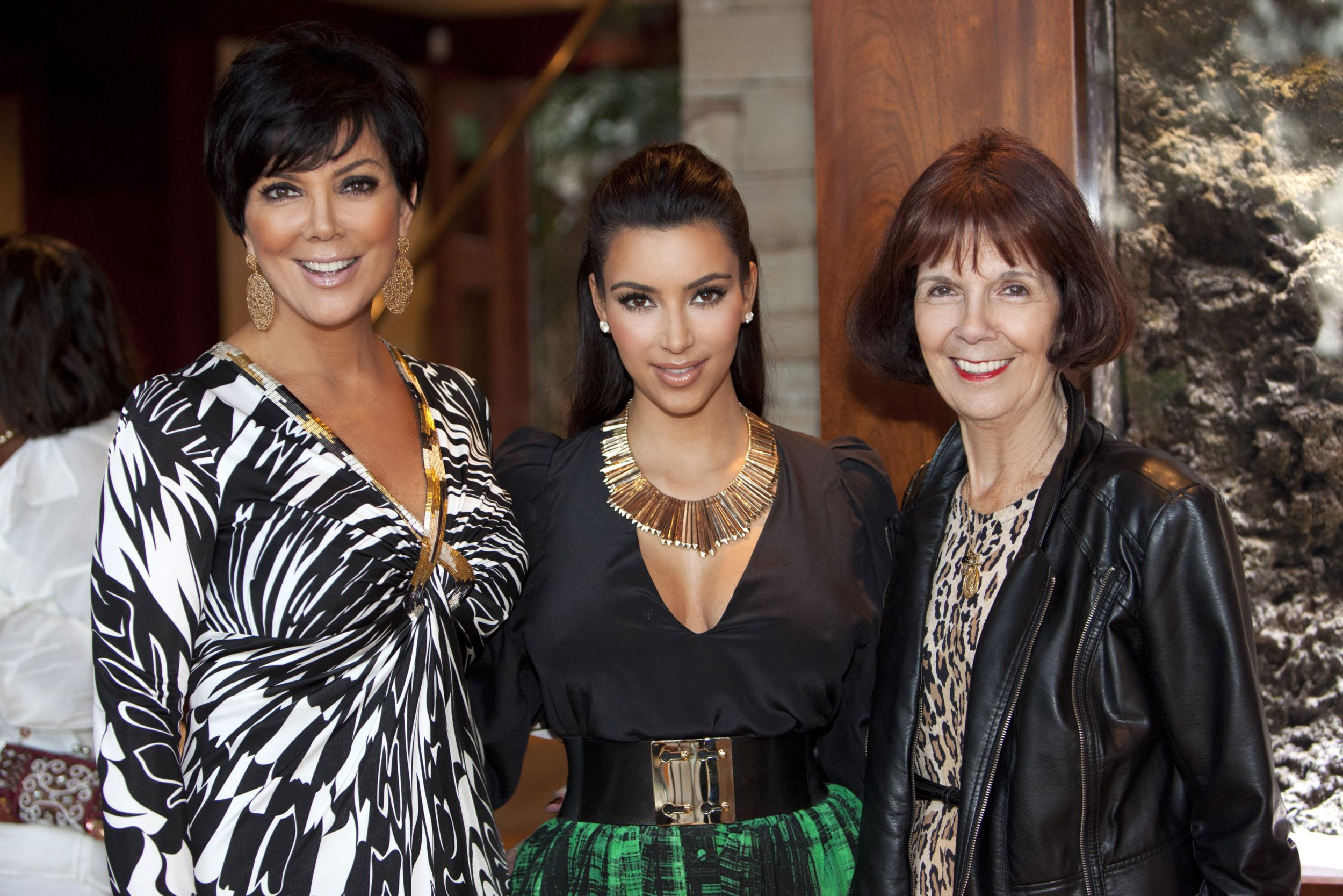 Exclusive Mandatory Credit: Photo by Startraks Photo/REX/Shutterstock (1447969p) Kim Kardashian, Kris Jenner with mother Mary Houghton Pre-wedding dinner for Kim Kardashian and Kris Humphries, Santa Barbara, California, America - 19 Aug 2011