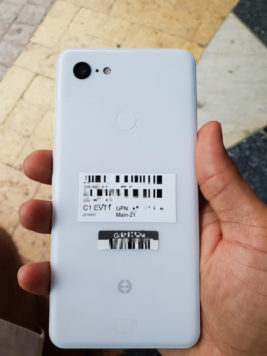Google Pixel 3 XL leak shows the rumoured 2018 Android
