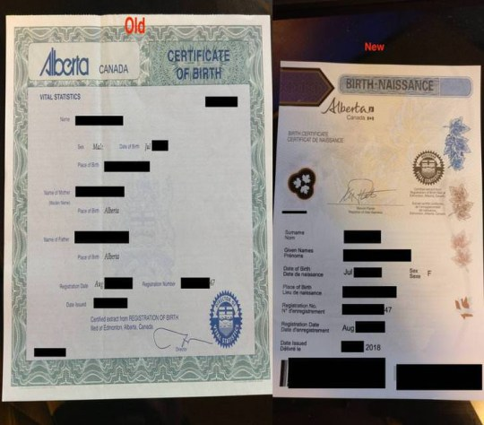 Driver changes gender to female to get cheaper car insurance https://www.reddit.com/r/alberta/comments/8fsqos/i_saved_15_or_more_on_car_insurance_by_switching/ https://imgur.com/a/C2KpOU6 Reddit/Anotherlink421