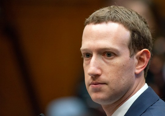 """Mark Zuckerberg, Co-Founder and CEO of Facebook, returns from a break to answer the last of the Member's questions as he testifies before a meeting of the United States House Committee on Energy and Commerce during a hearing on """"Facebook: Transparency and Use of Consumer Data,"""" on Capitol Hill in Washington, DC on Wednesday, April 11, 2018. 11 Apr 2018 Pictured: Mark Zuckerberg, Co-Founder and CEO of Facebook, testifies before a meeting of the United States House Committee on Energy and Commerce during a hearing on """"Facebook: Transparency and Use of Consumer Data,"""" on Capitol Hill in Washington, DC on Wednesday, April 11, 2018. Credit: Ron Sachs / CNP (RESTRICTION: NO New York or New Jersey Newspapers or newspapers within a 75 mile radius of New York City). Photo credit: Ron Sachs - CNP / MEGA TheMegaAgency.com +1 888 505 6342"""
