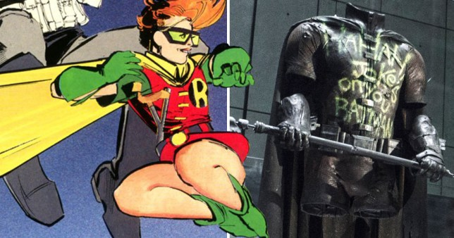 Snyder was going to introduce Frank Miller's female Robin to t