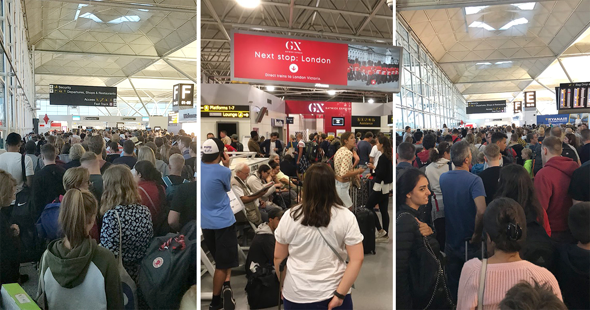 Holidays off to chaotic start as thunderstorms ground flights and delay trains