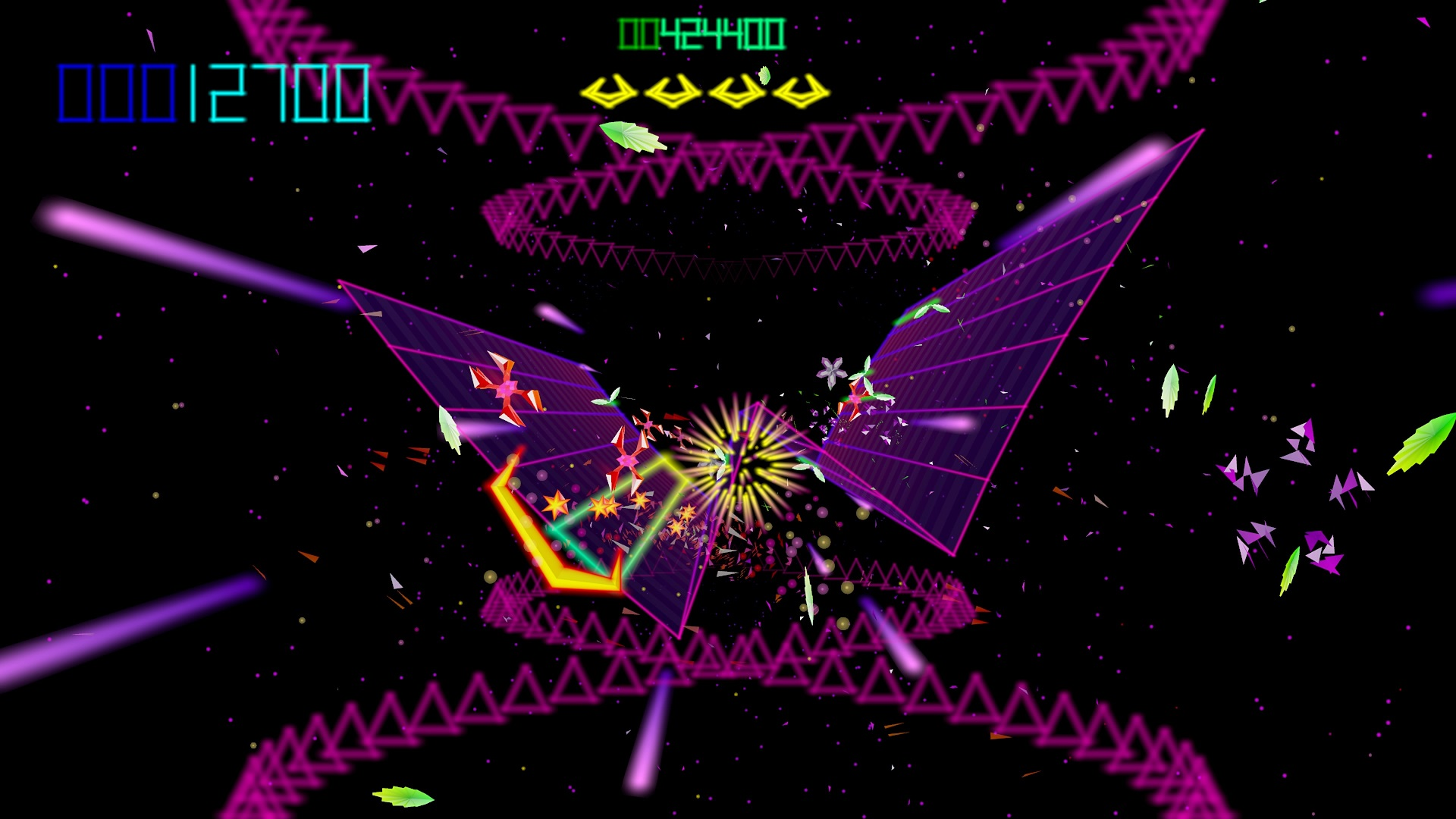 Tempest 4000 (PS4) - classic gameplay is forever