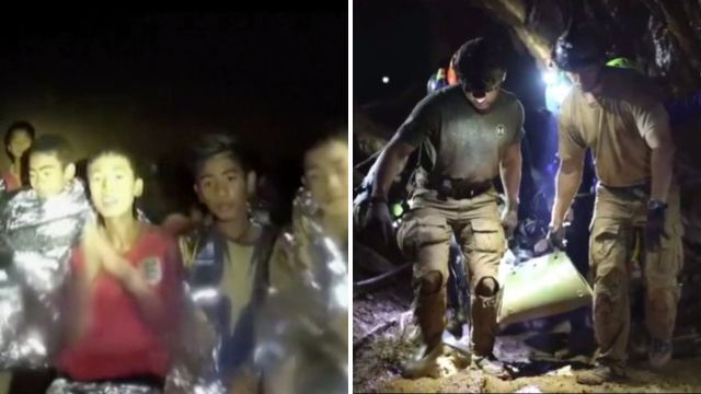 Thai boys were only meant to be in cave for an hour