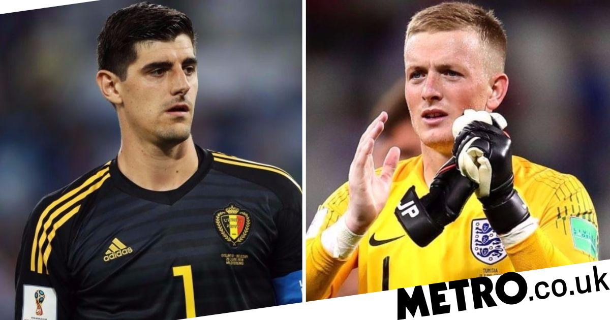 World Cup: Thibaut Courtois Mocks Jordan Pickford After