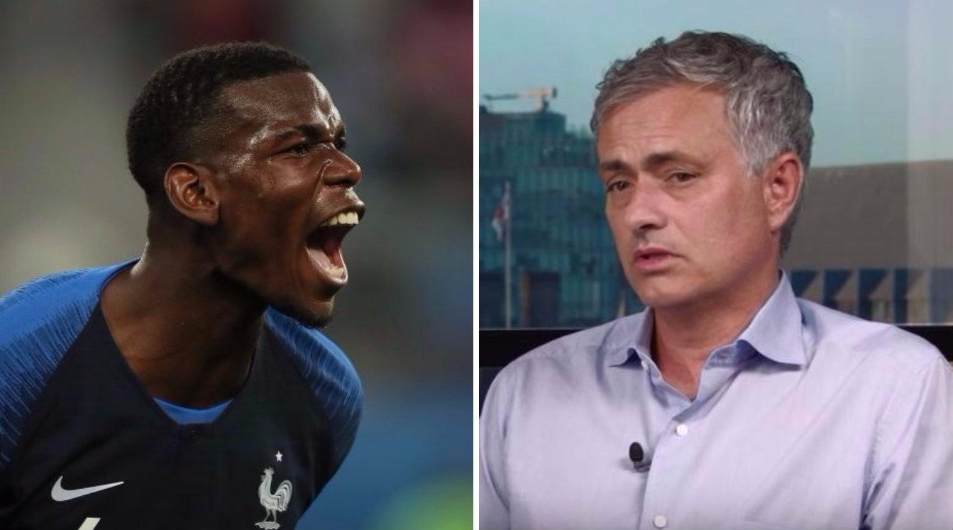 Jose Mourinho praises Paul Pogba for 'mature' performance against Belgium
