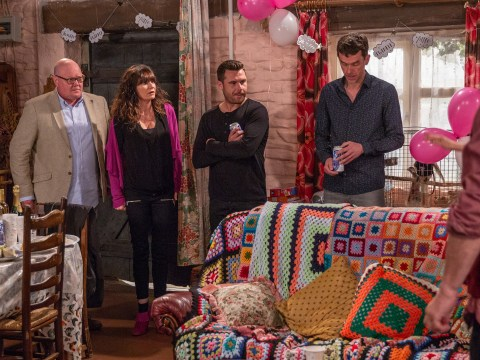 Emmerdale spoilers: Chas Dingle and Paddy Kirk pick their daughter's godparents