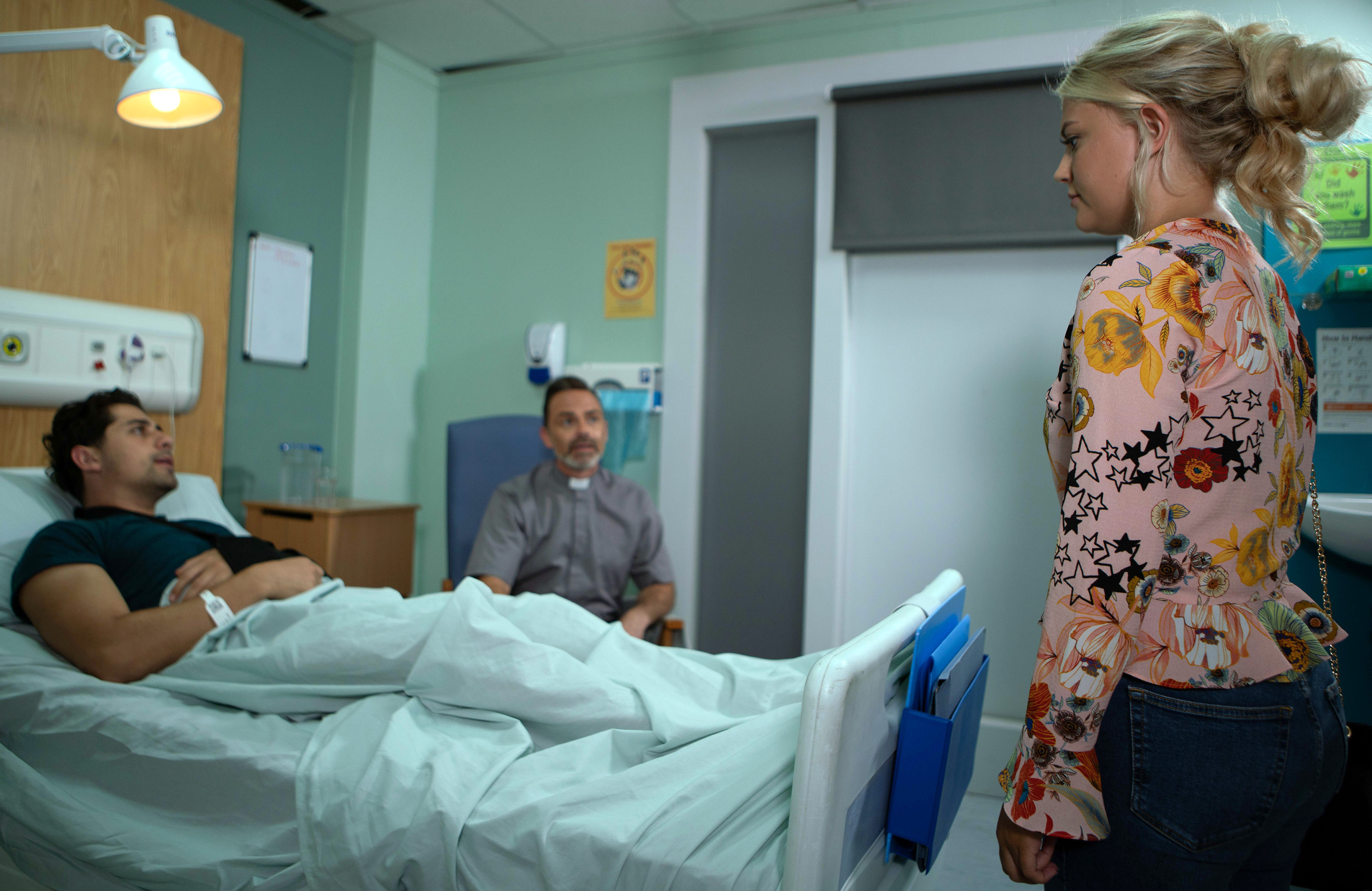 bethany discovers Josh is being visited by Billy in Coronation Street