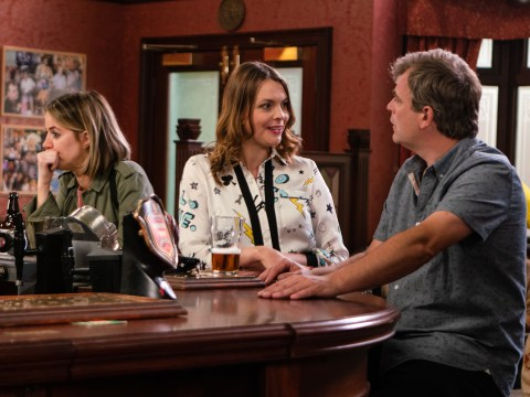Corrie spoilers: Heartbreak for Tracy, as Steve and Abi kiss?