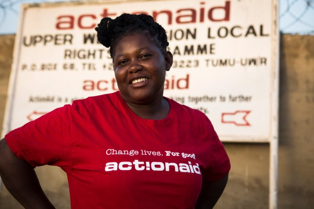 Abiba Nibaradun, who has rescued over 50 girls (Picture: Ruth McDowall/ActionAid)
