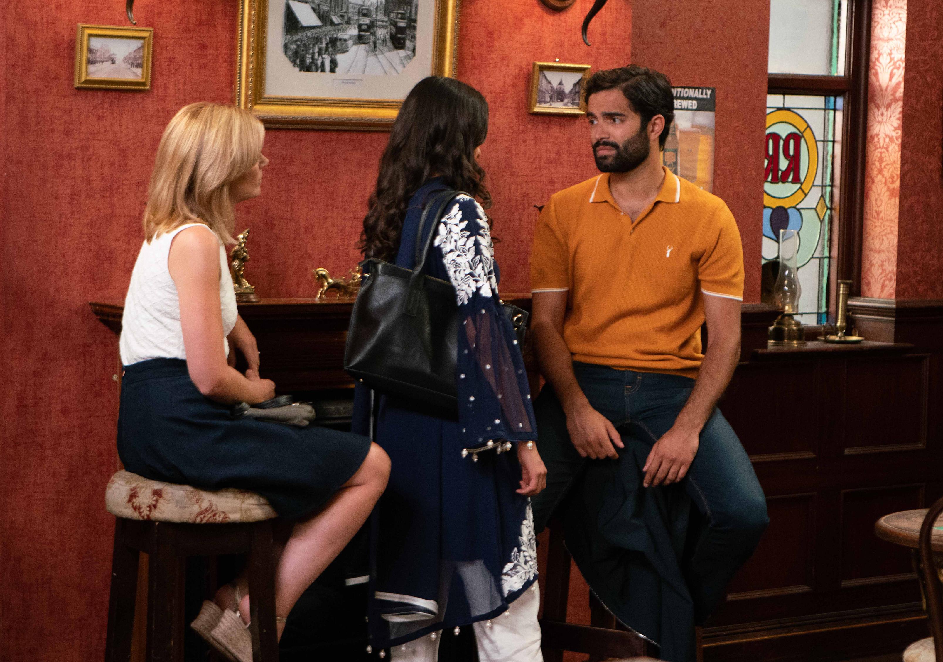 Corrie spoilers: Imran Habeeb rejects Leanne Battersby