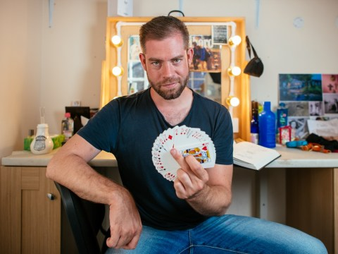 My odd job: I'm a magician and yes, I can do the rabbit out of the hat trick