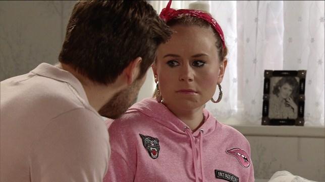 Gemma is horrified by Henry in Coronation Street