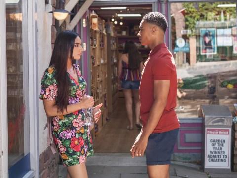 Hollyoaks spoilers: Hunter kisses Asha, Neeta's sister