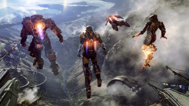 Anthem - flying robots are primitive fun