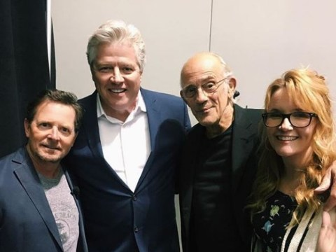 There has been a Back To The Future reunion and it's everything